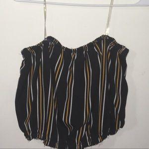 Tops - Strapless shirt